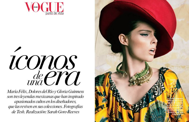 6Tesh photo Coco Rocha - Model