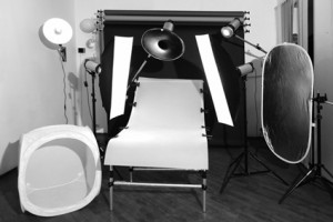 Photo studio.  Subject survey