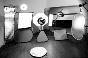 Constantine Owls photo studio in Kiev: Equipment