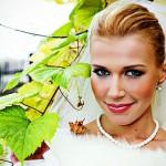 свадебный макияж-Юлии Королевич